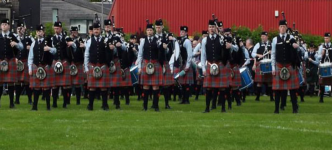Brilliant Day for Pipe Bands at Bathgate