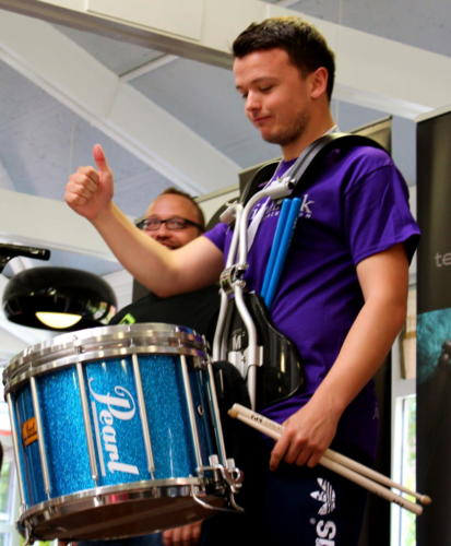 Drumming for Drinks - August 2014