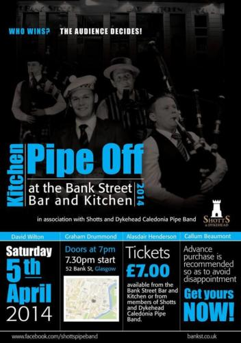 2014 - Kitchen Piping Competition