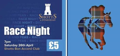 2014 - Shotts Race Night