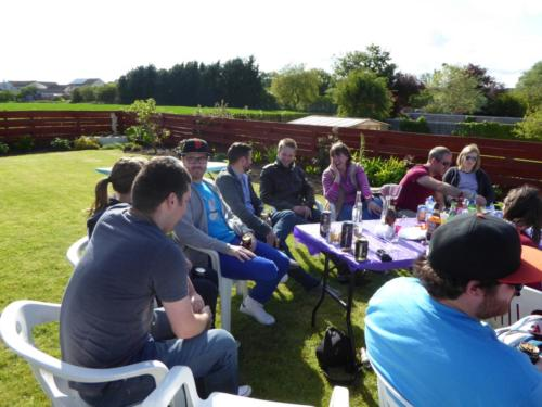 Band Barbecue - June 2015