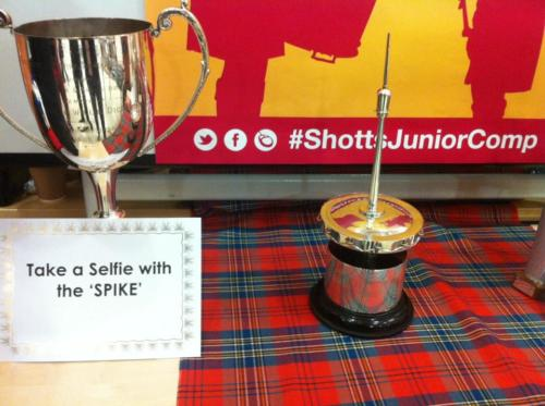 Solo Competition - 7th November 2015 - Selfie with the 'Spike'